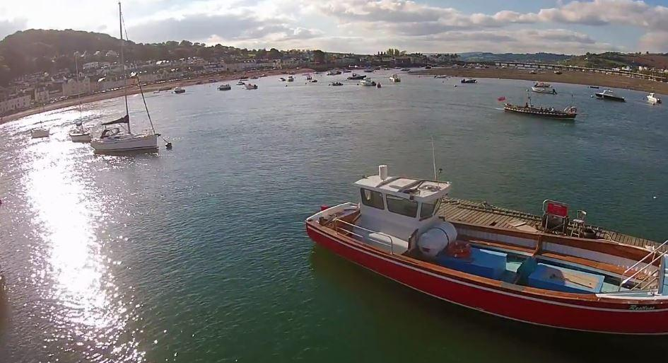 Header Image for: View Shaldon from the skies